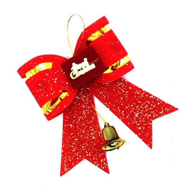 10 Pcs Lot Wholesale Christmas Big Bow Tie Type Xmas Decorations