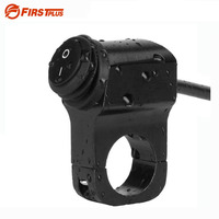 Waterproof 12V 16A Motorcycle 7 8 22mm Handlebar Mount Headlight Switch For Sport Dirt Electric Bike