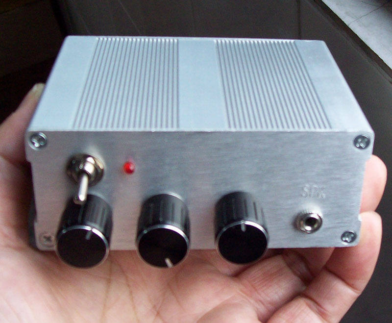 Assembled Airband Radio Receiver for Airport Ground Support plane Aluminum case