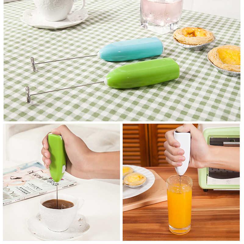 Venda quente do agregado familiar automático mini dispensador de creme chicoteado misturador de agitação de café elétrico hand-held liquidificador batedor de ovos foamer