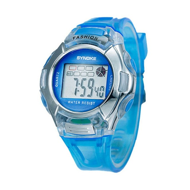 Retail Wholesales Electronic Child/Boy/Girl Sport Multifunction Waterproof Wrist