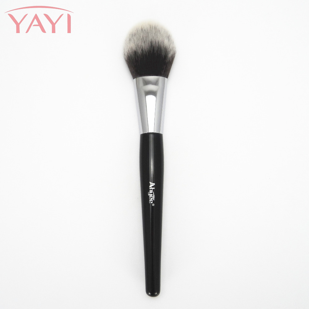 It is Professional Make Up Ahyee Brand Luxury Plastic Handle Long and Flat With A Tapered Tip Flawless Precision Powder Brush тушь make up factory make up factory ma120lwhdr04