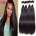 Peruvian Straight Virgin Hair 4 Bundles Vip Beauty Hair Weave Human Hair Bundles Straight Black Peruvian Virgin Hair Straight