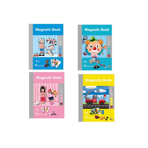 wooden magnetic puzzle board figure for kids Transform expression change face educational funny toy Fridge sticker children gift in Puzzles from Toys Hobbies