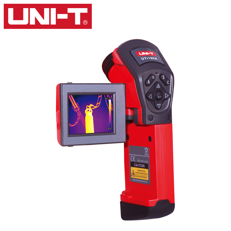 UNI-T UTi160A Handheld Infrared IR Thermal Imager Imaging Camera Visual Infrared thermometer 160x120 camera professional ir thermal imager infrared imaging portable infrared thermometer handheld thermal imaging infrared thermome
