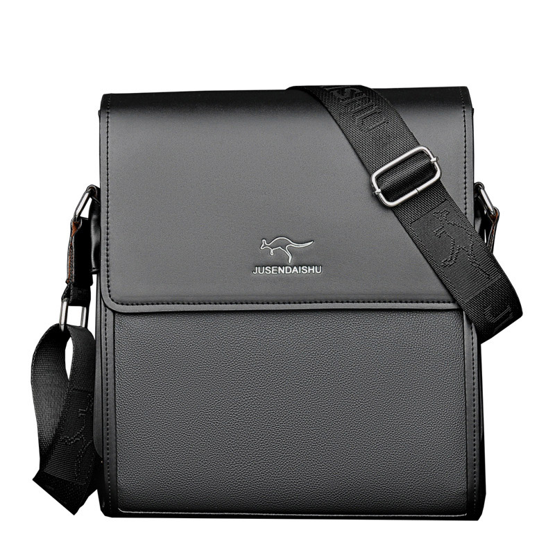 Durable Mens Real Leather Tote Messenger Bag Genuine Shoulder Briefcase Improve Your Business Temperament Bag