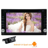 Capacitive Android 5.1 Car DVD Camera In Dash Radio OBD2 2 din FM Touchscreen GPS Stereo WiFi 4 CORE Auto Video PC