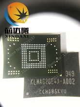Tab2 P5100 N8000 N5100 eMMC 16GB NAND flash memory IC chip Programmed firmware KLMAG4FEJA-A001(China)