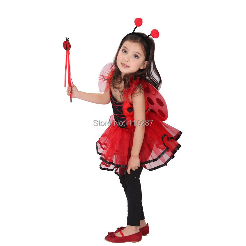 cute ladybug fairy halloween costumes for kids girls little girl dragonfly dance costumesgirls princess costume in girls costumes from novelty special