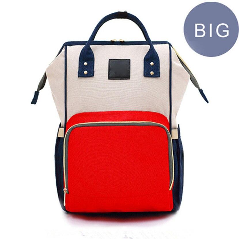 G-FAVOR Stor kapacitetsmummi Maternity Bag Nappy Blöja Barnväska - Handväskor - Foto 4