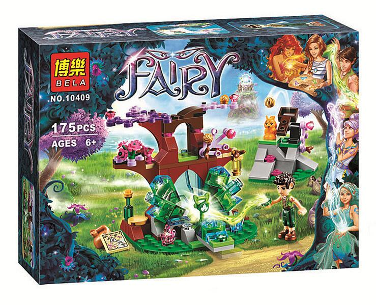 Bela 10409 blocks 175Pcs Elves Farran and the Crystal Hole Constructing Block set Minifigures Toys Suitable with 41076