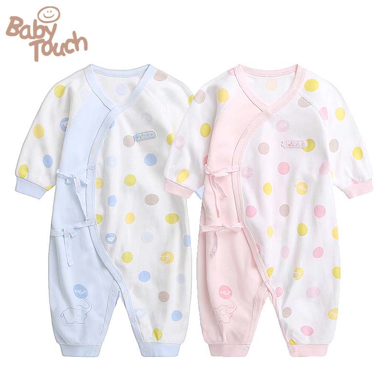 Free Shipping Babytouch Rompers Crawling Clothes Of 100