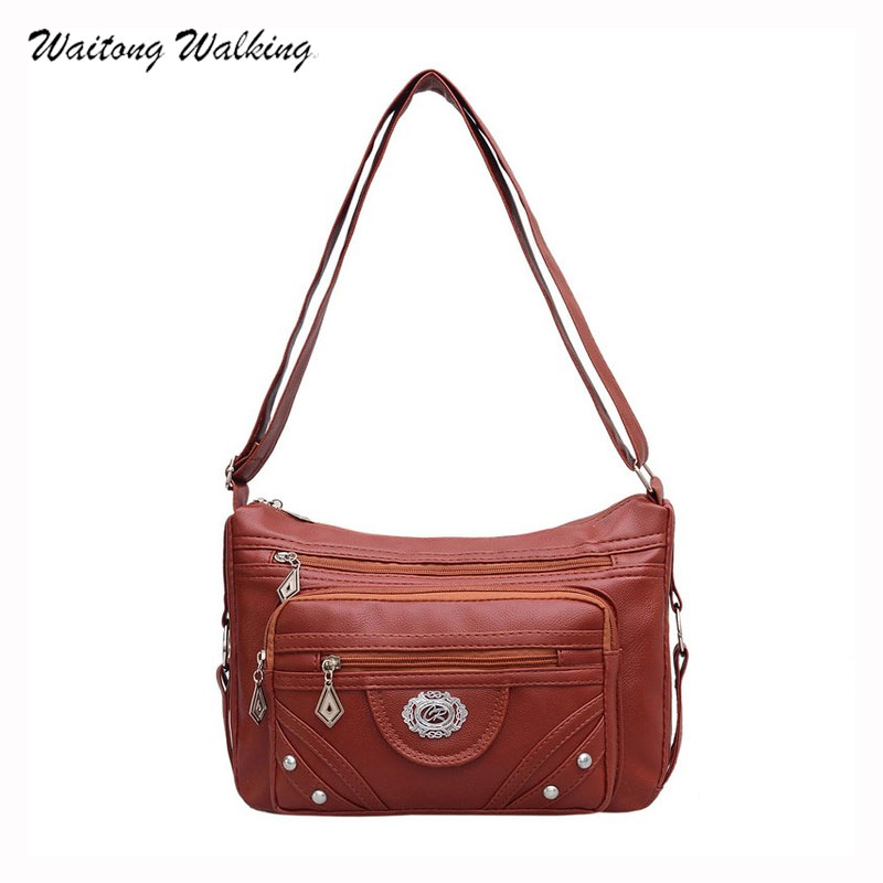 do vintage rebite bolsas femininas Interior : Bolso do Telefone de Pilha, bolso Interior do Zipper, bolso Interior do Entalhe