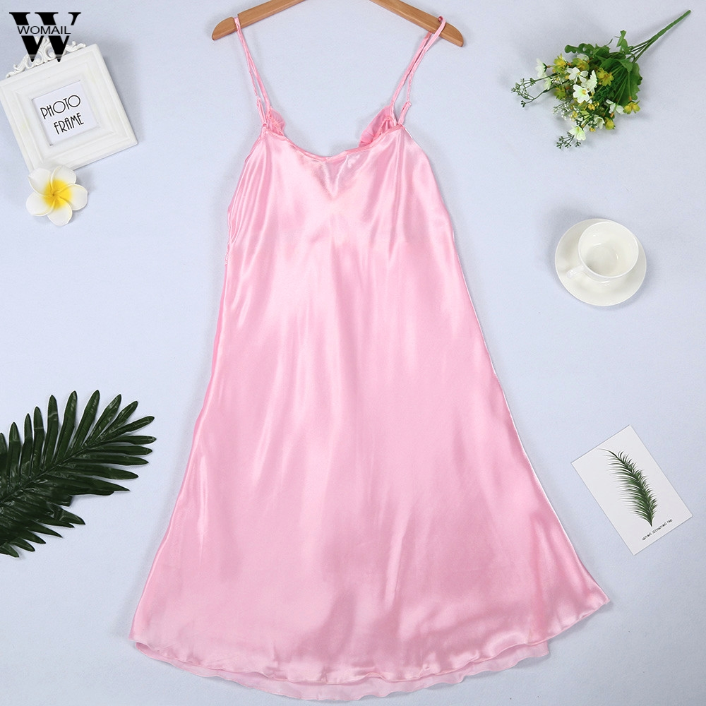 Womail Sexy   Nightgowns     Sleepshirts   Lace Plus Size Sexy Lingerie Babydoll Women Summer Dress Indoor Clothing Drop Shipping Jan 29