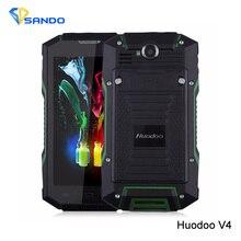 Original Huadoo V4 Huadoo V4 MTK6582 Quad Core Gorilla Glass IP68 Rugged Waterproof Phone Android 4.4 5.0″ OGS GPS NFC