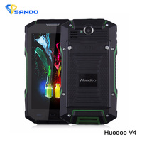 Originele Huadoo V4 Huadoo V4 MTK6582 Quad Core Gorilla Glas IP68 Robuuste Waterdichte Telefoon Android 4.4 5.0