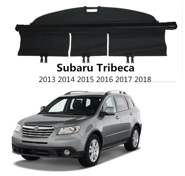 Car Rear Trunk Security Shield Cargo Cover For Subaru Tribeca 2013