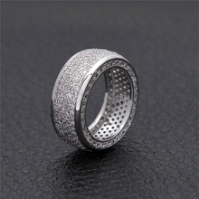 Cubic Zirconia Rings Iced Out High Quality Micro Pave CZ Rings