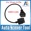 2016 Top Quality 14Pin Consult USB Diagnostic Interface OBD2 For Nissan 14 Pin USB To OBD2