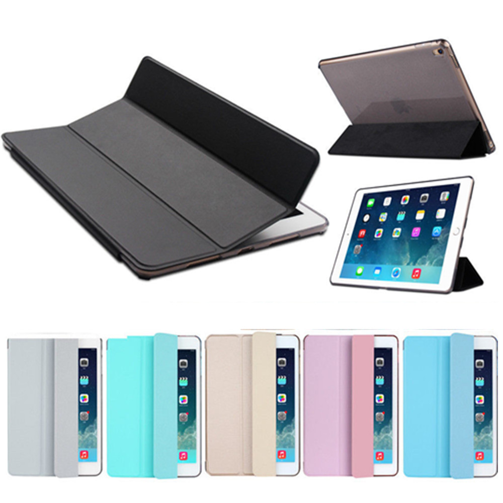 Tablet Stand Shell Case For Ipad Pro 9.7 A1673 Leather Cover Case Wallet Smart Case Funda For Ipad