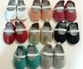 20 colors baby girls soft dance shoes baby moccasins moccs leather soft sole Baby ballet shoes infant newborn shoes