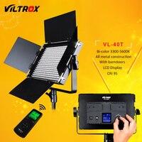 Viltrox VL 40T 540 светодио дный Studio Видео 3200 К 5600 К тонкий Двухцветный затемнения ЖК дисплей свет лампы для Камера видеокамера
