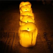 Set of 12 Ultra bright decorative candles,Led bougie mariage,Flameless bougies decorative mariage For Wedding