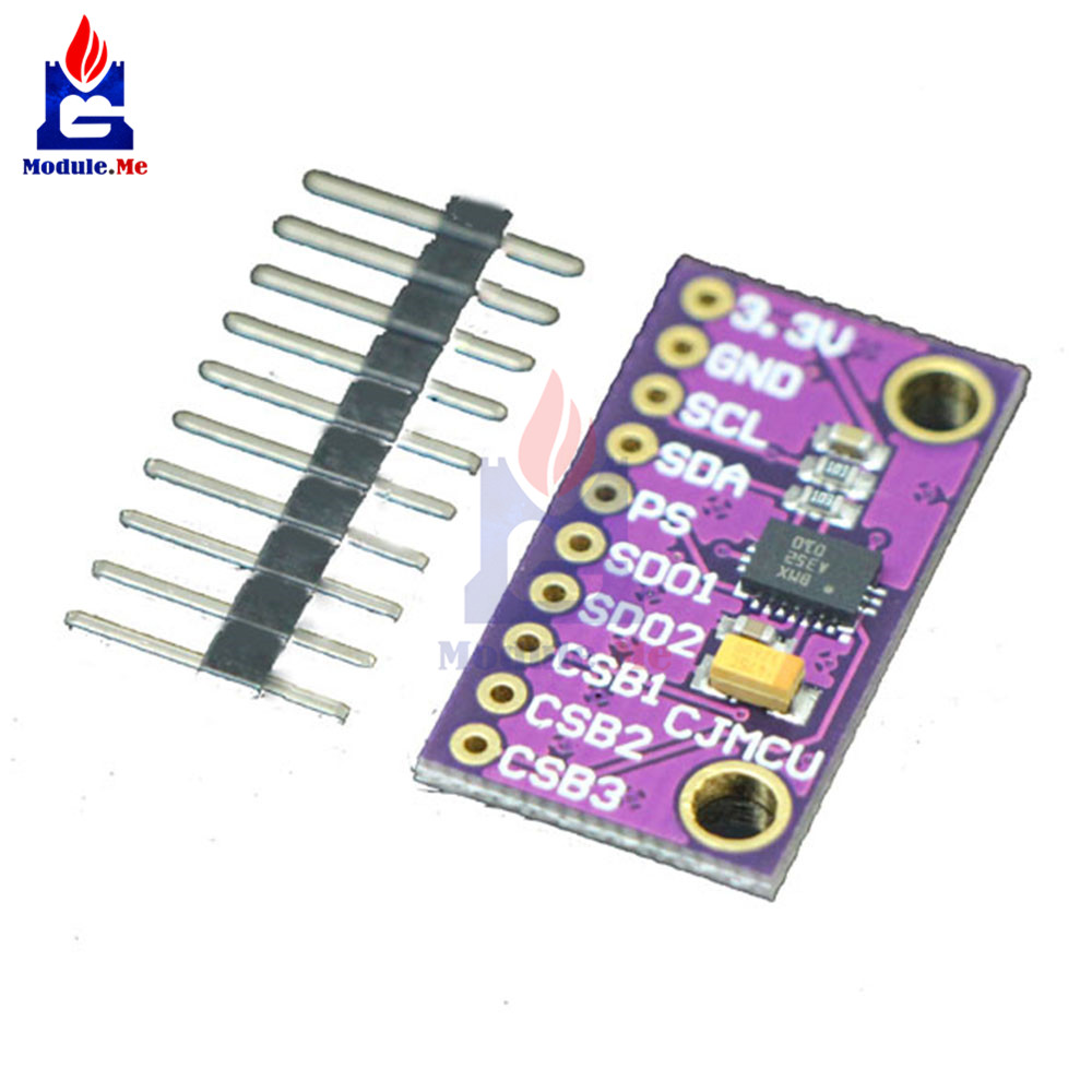 9-Axis 9DOF BMX055 IMU Precision Integrated Attitude Sensor Board Module For Arduino IIC I2C  Replace MPU9250 WITH Pins DIY KIT
