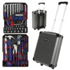 WORKPRO 111PC Trolley Case Tool Set Aluminum Box Set Home Tool Kits 3