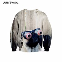 Cute Puppy Big Eyes 3D Hoodies Workout Retro Long Sleeve Tracksuits Sweatshirt Harajuku Pullovers Hot Sale