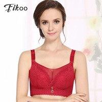 Fikoo Bras Sexy Women S Intimates Plus Size Lace Bra For Women Anti Emptied Underwear Bralette