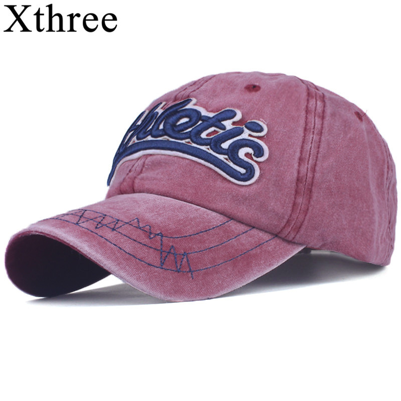 Xthree fashion Baseball Cap Bone Snapback Hats For Men women Hip hop Gorras Embroidered Vintage Hat Caps Casquette Brand cap new fashion floral adjustable women cowboy denim baseball cap jean summer hat female adult girls hip hop caps snapback bone hats