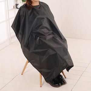 Image 3 - Outdoor Waterproof Hairdressing Cloth Adult Camping Hiking Cape Gown Wrap Black Hairdresser Cape Multifunction Camping Mat