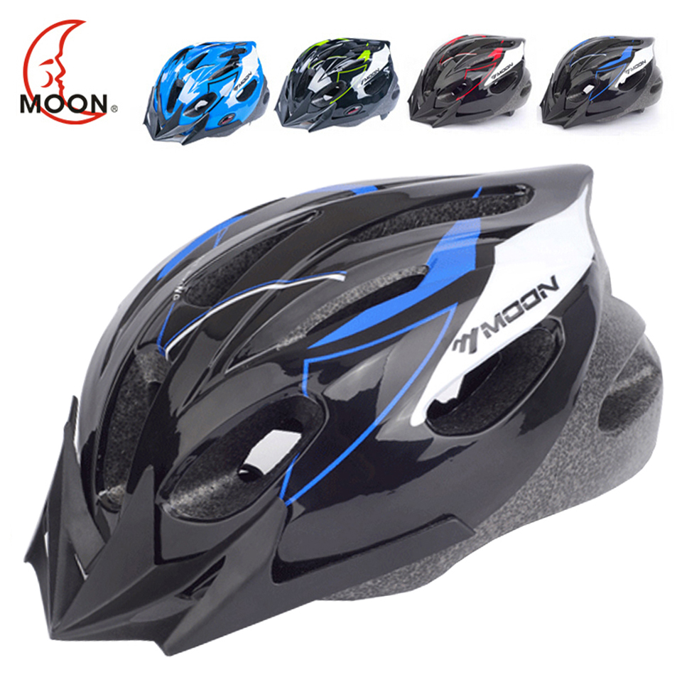 MOON High Quality Kids Bicycle Helmet PC+EPS Ultralight Children Cycling Helmet 16 Air Vents Safety Kids Bike Helmet 12 14 16 kids bike children bicycle for 2 8 years boy grils ride kids bicycle with pedal toys children bike colorful adult