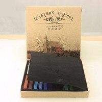 מארלי 12 24 36 אבקת טונר צבע 48 עט מברשת צבע פסטל שיער מקל צבע טוב של אחד