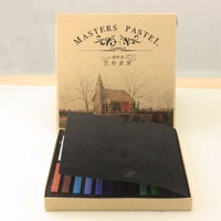 Marley 12 24 36 Color 48 Toner Powder Paint Brush Pastel Stick Good Dye One S