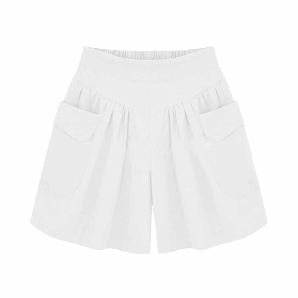 Hot szorty damskie luźne gorące spodnie kieszenie kieszenie kobiety letnie szorty na co dzień pani krótkie spodnie kobiety feminino spodenki damskie