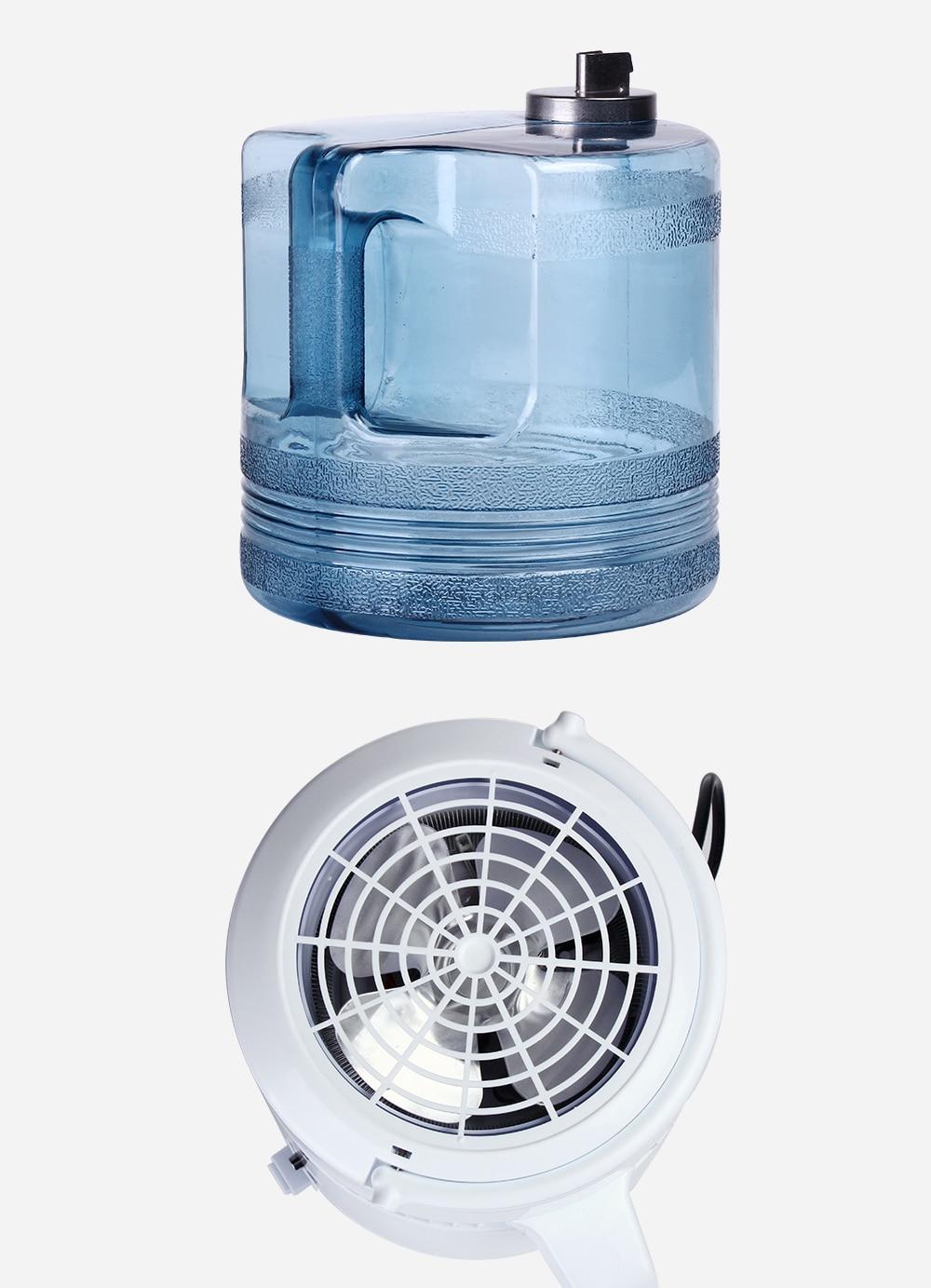 Housing Use 4L Water Distiller Distilled Water Machine Distillation Purifier Stainless Steel Water Filter Russian Instructions