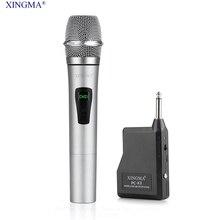 XINGMA PC-K3 Professional Wireless Microphone Dynamic Handheld Karaoke Mic Uhf With Receiver For KTV singing Speech Amplifiers