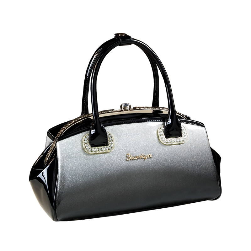 ff25109a7ddb Detail Feedback Questions about 2018 brand luxury handbags women bags  designer high quality patent leather clip hand bag wedding package evening  clutch ...