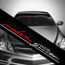 130cm x 21cm accesorios automovil Auto Car Window Decal Sticker Front Windshield Sunshade Reflective Decoration
