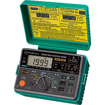 Fast arrival KYORITSU 6010B Digital Multi Function Tester (5 in 1) with memory/communication function 20/200OHM цена