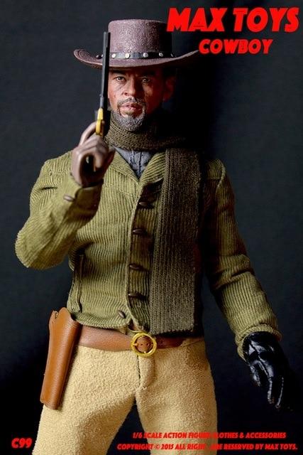 con ropa escala muñeca Foxx masculina Vaquero figura Unchained 16 ropa Jamie de Django xwSX8UUq