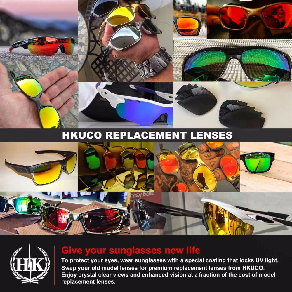 a7b2935ed0b HKUCO For Oakley Half Wire 2.0 Polarized Replacement Lenses-in Sunglasses  from Apparel Accessories on Aliexpress.com