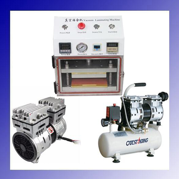 OCA Vacuum Laminator Laminating Machine Cellphone LCD Screen Refurbish Repair Lamination Machine + Vacuum Pump+Air Compressor new tbk full kit lcd refurbish machine lcd repair machine oca lamination machine