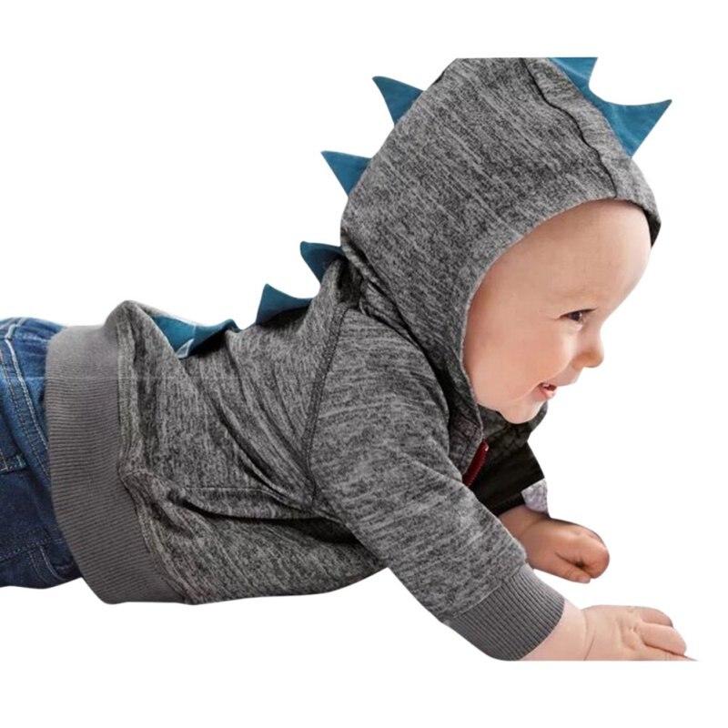 12f093eb97a36 Automne Chaud Zip Hoodies Hiver de Bande Dessinée Manteau Vêtements Enfants  À Manches Longues Coupe-Vent À Capuche