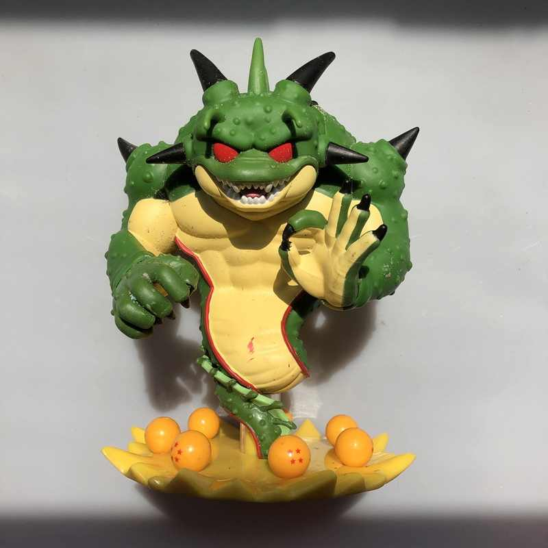 2019 ''6 ECCC Original Funko pop de Segunda Mão Dragon Ball Z-Shenron Vinyl Action Figure Collectible Modelo Toy Solto