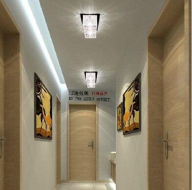 Colorpai 2 W Cristal Plafond Lampes Couloir Lumiere Couloir Lampe