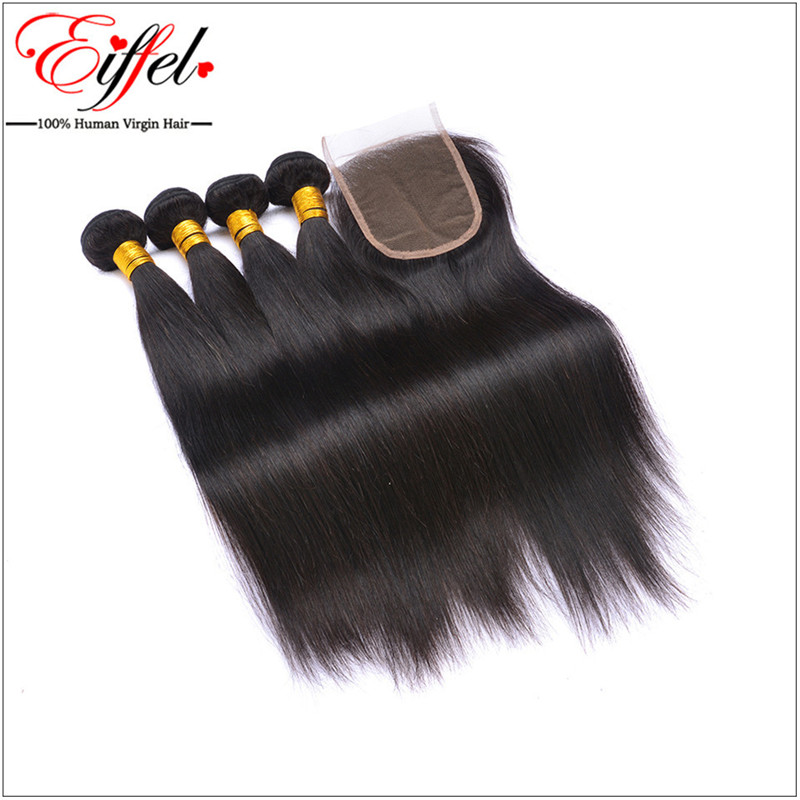 Sweetie Hair Company Virgin Malaysian Straight With Closure