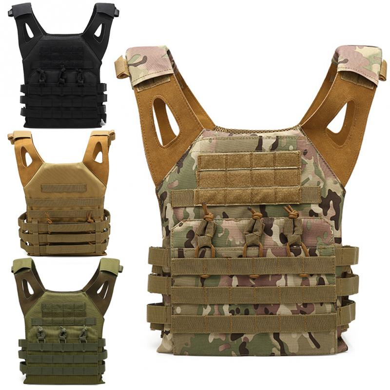 Chasse Gilet Tactique Militaire Molle Gilet Combat Assault Plate Carrier Vest Extérieure De Protection Léger Gilet